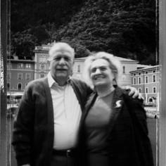 I signori Flora e Gianfranco Sala