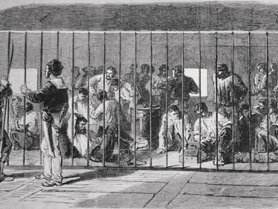 Le tristi condizioni delle guardie nazionali fatte prigioniere