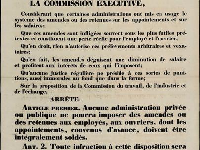 Decreto che vieta il sistema di multe
