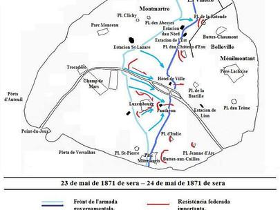 La Commune de Paris. La Semaine sanglante. Mercoledì 24 maggio 1871.