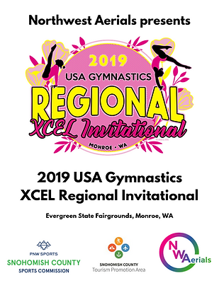 XCEL Regional Invitational 2019 program.