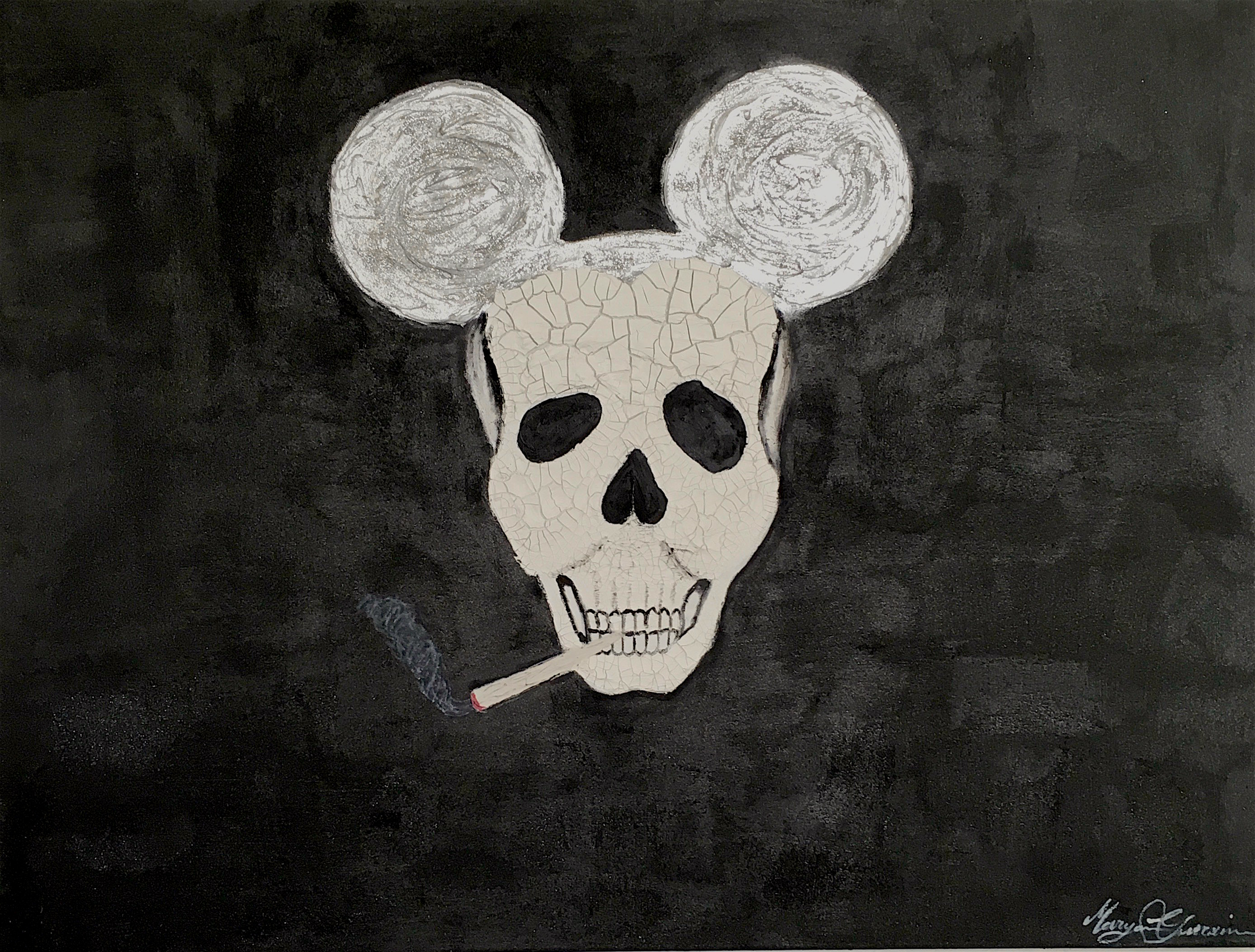 Dead Mouse by Maryam Gueramian