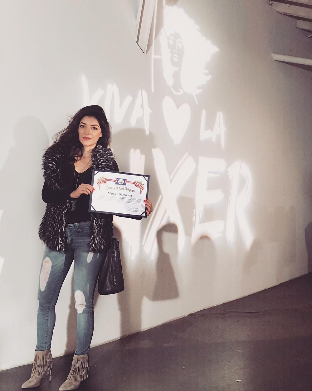 Maryam Gueramian at Viva La Muxer 2016
