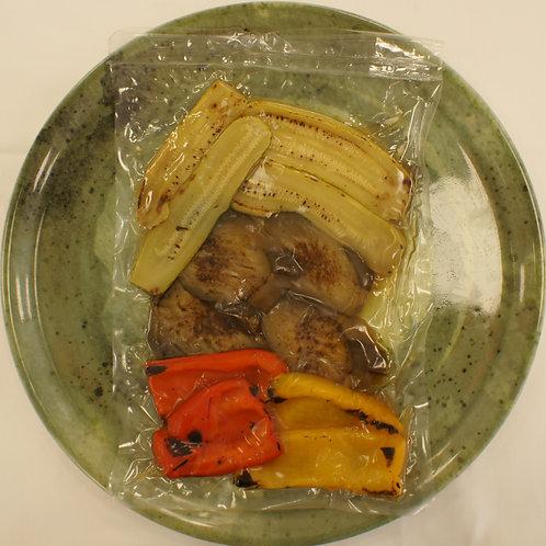 Zucchine cotte sottovuoto