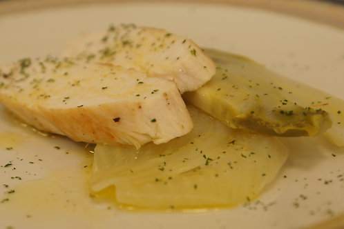 Tagliata di pollo con citronette agli agrumi e senape