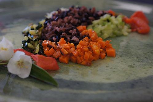 Insalata di risi con verdure