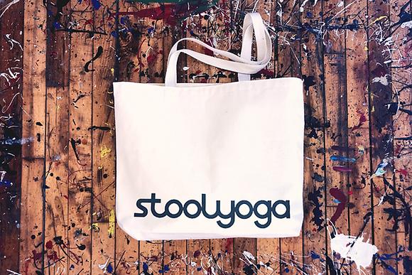 Stoolyoga Tote Bag