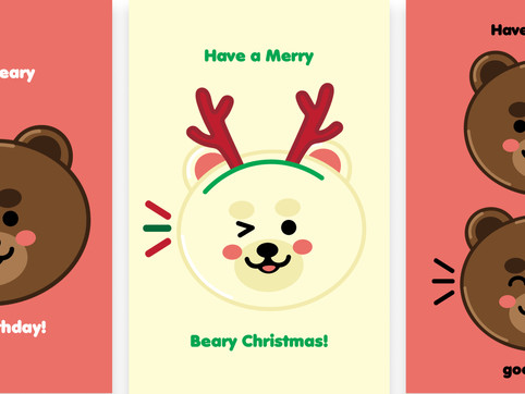 Beary Cards