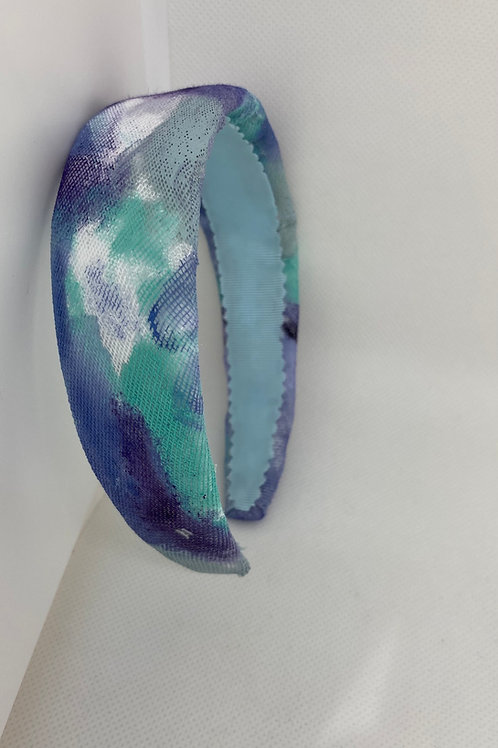 Diadema Rainbow tie-dye Ocean