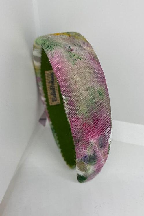 Diadema Rainbow Pink&Green