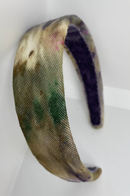 Diadema Rainbow tie-dye Fall