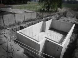 Waterdichte betonkelder te Dilsen