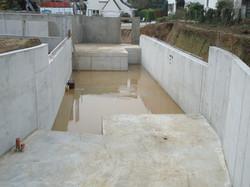 Woning in beton te Dilbeek