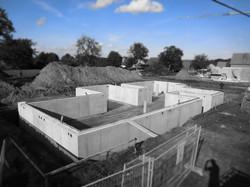 Waterdichte betonkelder te Lummen
