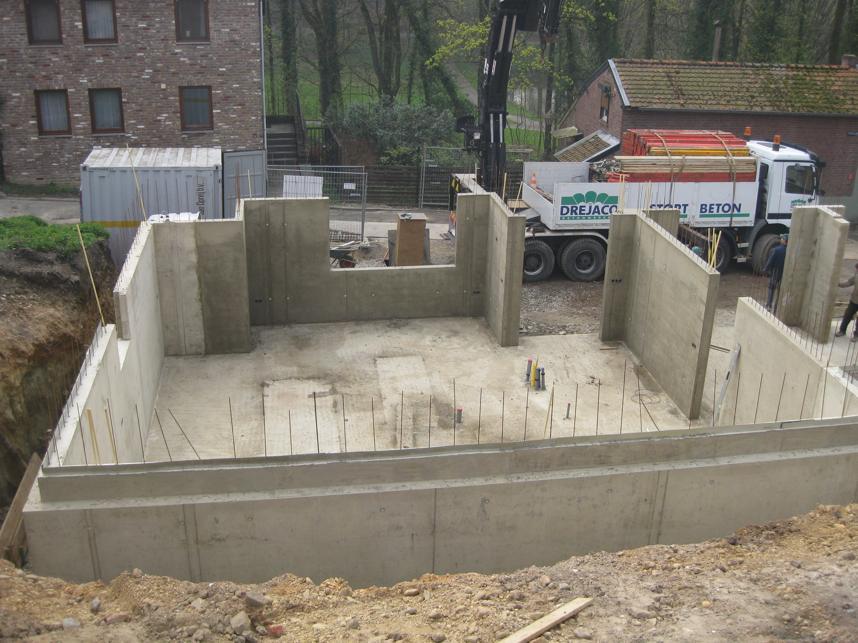 Woning in beton te Kerkrade (NL)