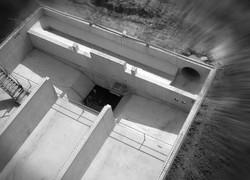 Bufferbekken in gewapend beton