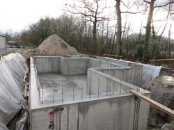Waterdichte betonkelder te Hasselt