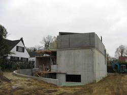 Woning in beton te Heverlee