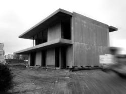 Woning in beton te Gelrode