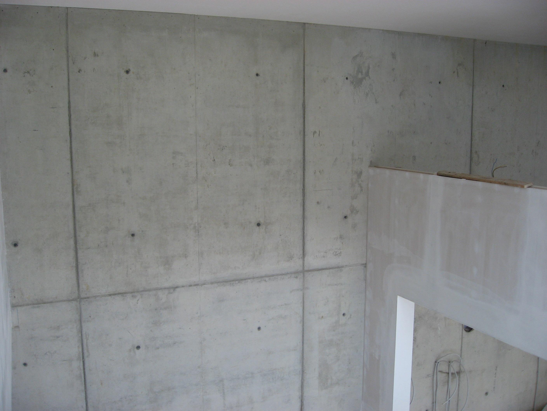 Binnenmuren in beton