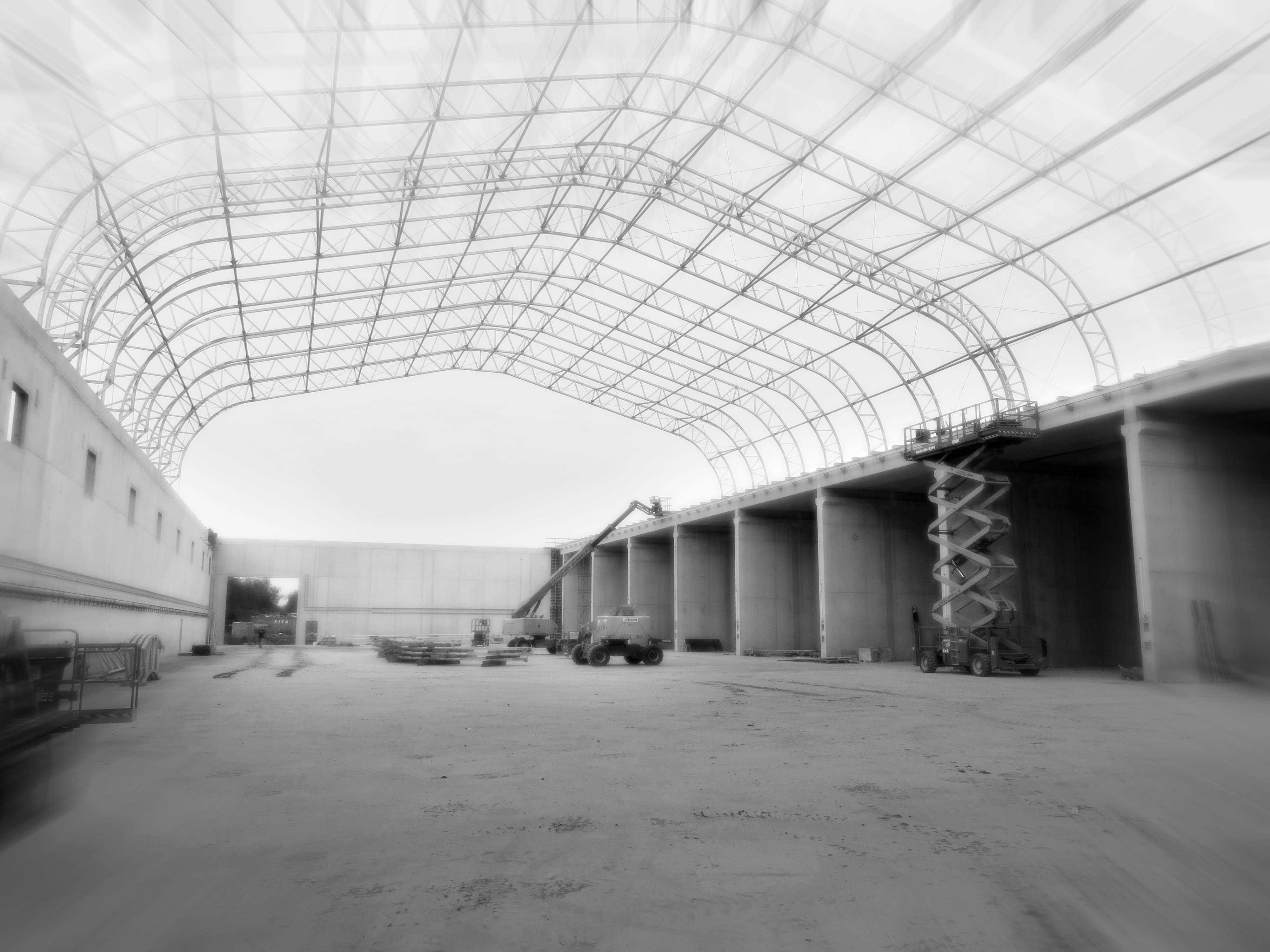 Betonwanden industriehal