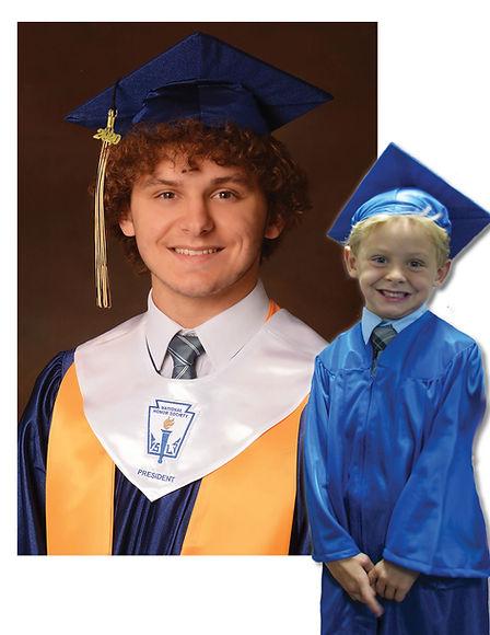 PRESTON  - Graduation photo memory book