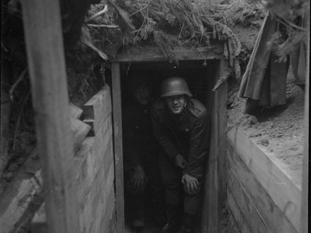 The rebirth of a lost and forgotten WW2 shelter of the Hanko Front