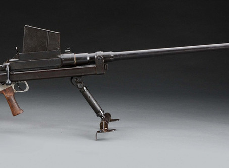 British 55 (13,9mm) Boys anti-tank rifle stopped  Soviet reinforcements in the archipelago