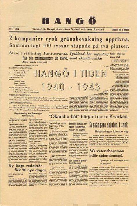Hangö i tiden 1940-1943