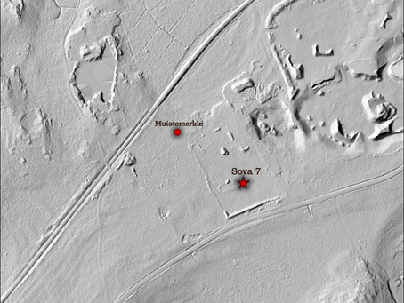 The conflict archaeology research of POW camp number  7 (Mustio)