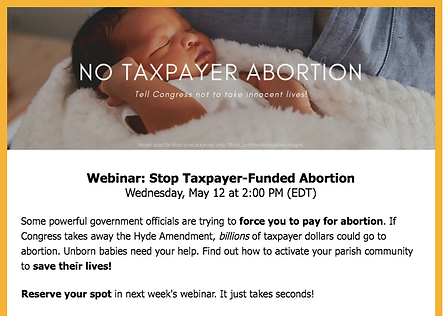 Stop Taxpayer Funded Abortion May 2021.p
