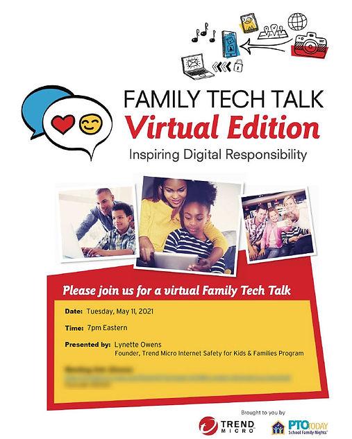 Family Tech Talk - Virtual Edition - 11