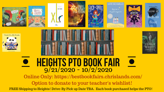 Book Fair, Room Parent Orientation Meeting, and more news you could use!