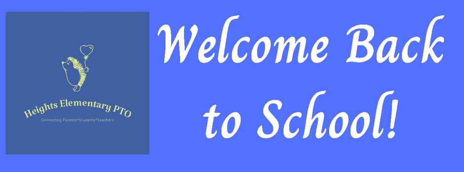 Welcome back to school! Teacher Appreciation Lunch, First PTO Meeting, and more news you could use!