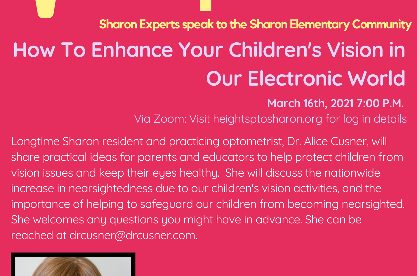 Sharon Speaks_ How To Enhance Your Child