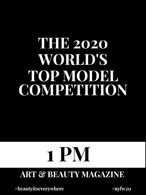 1PM - WORLD TOP MODEL COMPETITION