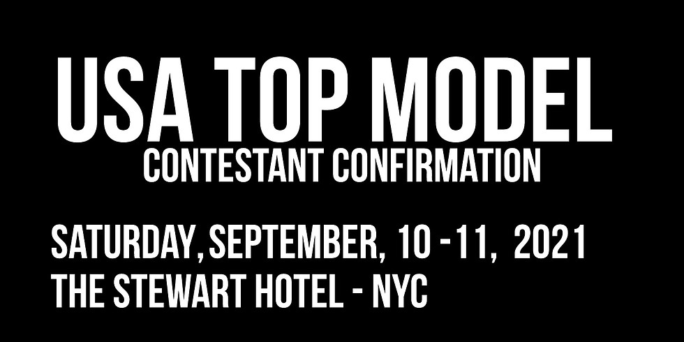 USA Top Model Contestant Confirmation