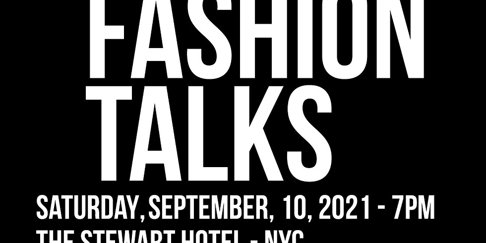 FASHIONTalks - A VIP Optional Event