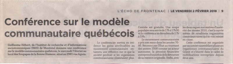2018-02-02-Écho_de_Frontenac_-_Conférence_sur_le_modèle_communautaire_québécois.jpg