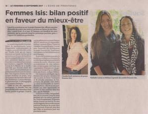 2017-09-08-Écho_de_Frontenac-Femmes_Isis_Bilan_positif_en_faveur_du_mieux-être.jpg