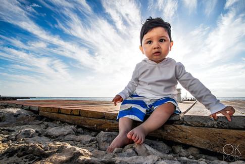 Portrait of a boy, children photography