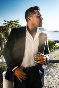 Musician photography. Portrait of Gio Ortega