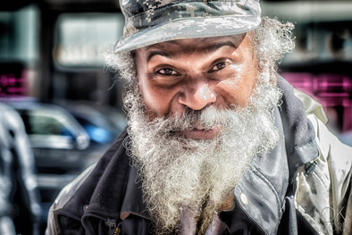 Portrait in the streets of New York