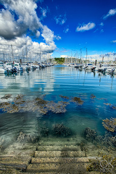 Bretagne, France, landscape photograhy, sailboats marina trinite sur mer