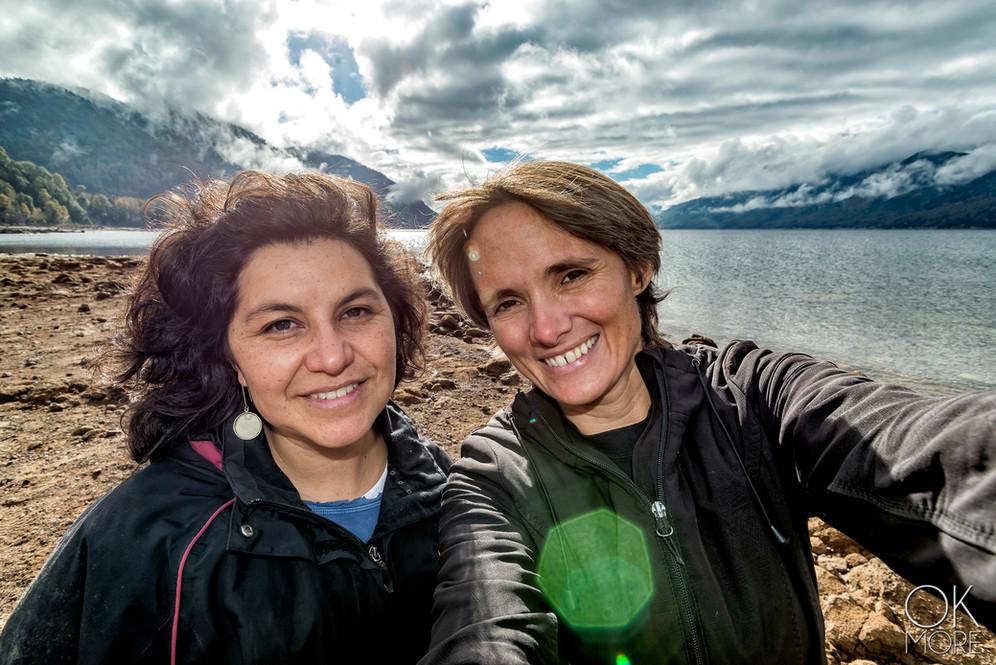 Travel photography, destination south Chile: villarrica, caburga