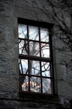Travel photography destination Shetland island, Scotland house street window lerwick