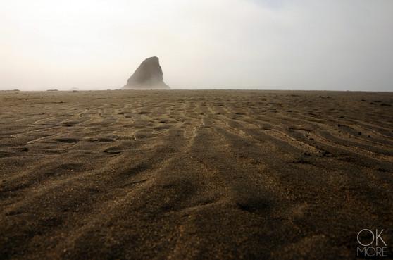 Travel photography destination California: humboldt los coast, sandy pacific beach