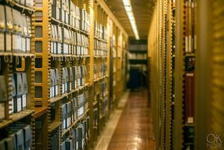 Travel photography destination New York: library