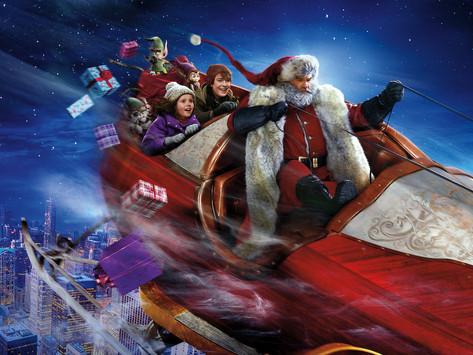 Pronti a salire su una slitta con Babbo Natale?