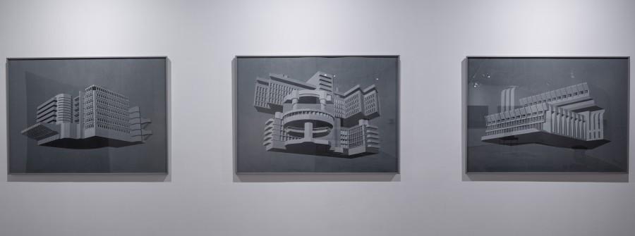 'Monuments, Mausoleums, Memorials, Modernism' Installation view. Image credits: Experimenter